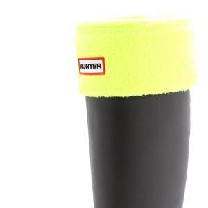 Hunter Neon Yellow Boot Inserts Socks